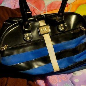 Lulu bag blue/ black